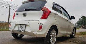 Cần bán xe Kia Picanto 1.25 số tự động, đời 2012, máy xăng, màu trắng, nội thất màu ghi, dáng Hatchback giá 298 triệu tại Thanh Hóa