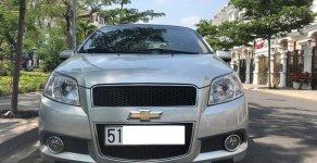 Bán xe Chevrolet Aveo LT sản xuất 2017, màu bạc số sàn giá 296 triệu tại Tp.HCM
