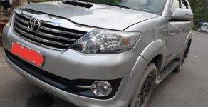 Bán ô tô Toyota Fortuner đời 2015, màu bạc số sàn giá 830 triệu tại Tp.HCM