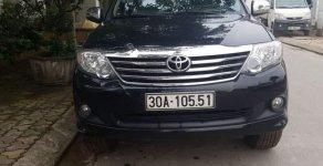 Cần bán gấp Toyota Fortuner đời 2014, màu đen chính chủ, giá 745tr giá 745 triệu tại Hà Nội