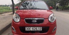 Chính chủ bán Kia Morning đời 2012, màu đỏ giá 165 triệu tại Hà Nội