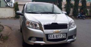 Gia đình bán xe Chevrolet Aveo sản xuất năm 2014, màu bạc giá 300 triệu tại Tp.HCM
