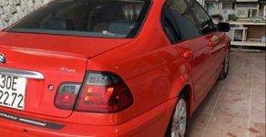 Bán BMW 3 Series 318i sản xuất năm 2004, màu đỏ   giá 280 triệu tại Hà Nội