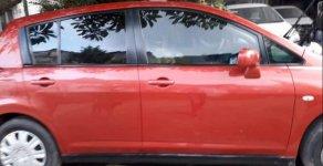 Bán ô tô Nissan Tiida 2008, màu đỏ, nhập khẩu nguyên chiếc xe gia đình giá 370 triệu tại Tp.HCM
