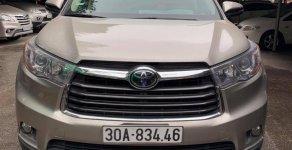 Bán ô tô Toyota Highlander Limited đời 2016, màu nâu, nhập khẩu chính hãng giá 2 tỷ 80 tr tại Hà Nội