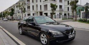 Bán BMW 5 Series 535i 3.0 AT 2007, màu đen giá 535 triệu tại Hà Nội
