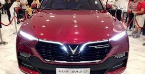 Bán VinFast LUX A2.0 năm sản xuất 2019, màu đỏ giá 1 tỷ 286 tr tại Tp.HCM