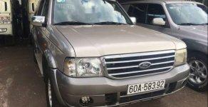 Cần bán xe Ford Everest đời 2005, màu vàng, giá tốt giá 220 triệu tại Đồng Nai