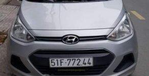 Bán Hyundai Grand i10 sản xuất năm 2016, màu bạc, xe nhập, 350tr giá 350 triệu tại Tp.HCM