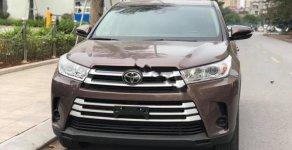 Bán Toyota Highlander LE 2.7 đời 2017, màu nâu, nhập khẩu nguyên chiếc giá 2 tỷ 565 tr tại Hà Nội