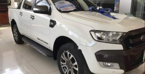 Bán Ford Ranger Wildtrak 3.2L đời 2015, màu trắng, xe nhập giá 750 triệu tại Tp.HCM