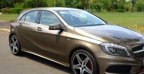 Cần bán gấp Mercedes A250 tự động 2015 màu nâu hoàng kim đẹp giá 712 triệu tại Tp.HCM