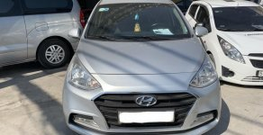Bán Hyundai Grand i10 Sedan 1.2MT 2018, màu bạc, đúng chất, giá TL, hỗ trợ trả góp giá 398 triệu tại Tp.HCM