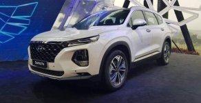 Bán Hyundai Santa Fe sản xuất 2019, màu trắng giá 1 tỷ 65 tr tại Tp.HCM