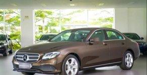 Bán Mercedes E250 năm 2017, màu nâu  giá 2 tỷ 370 tr tại Tp.HCM