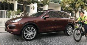 Bán Porsche Cayenne 2012, màu nâu, nhập khẩu nguyên chiếc, một chủ sử dụng từ đầu giá 2 tỷ 150 tr tại Hà Nội