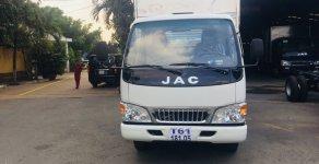 Giá xe tải Jac 2T4 (2 tấn 4). Xe tải Jac 2.4 tấn L250 thùng dài 4.38M giá 370 triệu tại Bình Dương