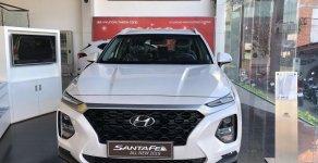 Bán xe Hyundai Santa Fe đời 2019, màu trắng, giá hấp dẫn giá 995 triệu tại Tp.HCM