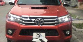Bán Toyota Hilux 3.0G 4x4 AT sản xuất năm 2016, màu đỏ  giá 740 triệu tại Hà Nội
