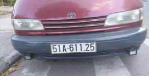 Bán xe Toyota Previa sản xuất năm 1990, màu đỏ, chính chủ bao ký rút hồ sơ gốc giá 115 triệu tại Tp.HCM