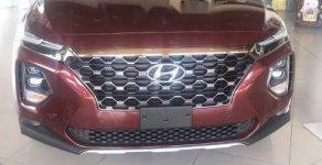 Bán Hyundai Santa Fe năm 2019, màu đỏ giá 1 tỷ 250 tr tại Tp.HCM