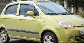 Gia đình bán Chevrolet Spark 0.8 MT 2010, màu xanh cốm giá 140 triệu tại Hà Nội