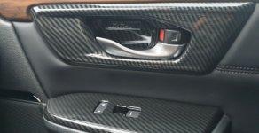 Chính chủ bán Honda CR V 1.5 AT năm sản xuất 2018, màu đen giá 1 tỷ 100 tr tại Hà Nội
