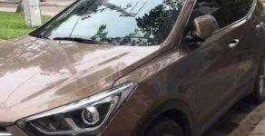 Bán Hyundai Santa Fe sản xuất năm 2017, màu nâu giá 1 tỷ tại Đà Nẵng