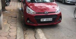 Cần bán gấp Hyundai Grand i10 1.2 AT năm sản xuất 2018, màu đỏ đẹp như mới giá 422 triệu tại Hà Nội