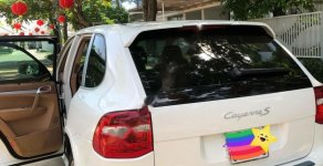 Bán Porsche Cayenne 3.6 V6 đời 2008, màu trắng, nội thất màu da bò giá 970 triệu tại Tp.HCM