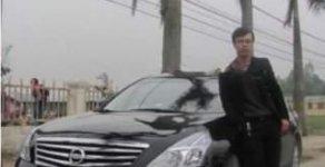 Cần bán Nissan Teana 2.0 AT đời 2010, màu đen giá cạnh tranh giá 600 triệu tại Nghệ An
