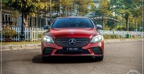 Mercedes-Benz C300 AMG Model 2020 - Ưu đãi đến 100% thuế trước bạ - hỗ trợ bank 80%, LH: 0919 528 520 giá 1 tỷ 920 tr tại Tp.HCM