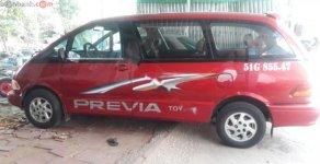 Bán Toyota Previa năm 1990, màu đỏ, nhập khẩu số tự động, giá 119tr giá 119 triệu tại Tp.HCM