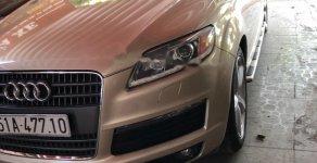 Bán xe Audi Q7 năm sản xuất 2009, màu vàng, nhập khẩu xe gia đình giá 795 triệu tại Tp.HCM