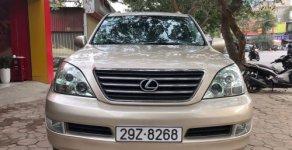 Bán Lexus GX 470 năm sản xuất 2008, màu vàng cát giá 1 tỷ 200 tr tại Hà Nội