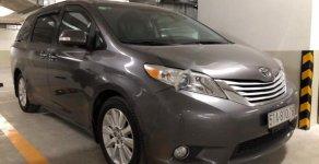 Bán Toyota Sienna Limited AWD 2013, màu xám, nhập khẩu, xe gia đình giá 2 tỷ 215 tr tại Tp.HCM