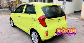 Bán ô tô Kia Picanto S 1.25 MT sản xuất năm 2013, màu vàng   giá 235 triệu tại Ninh Bình