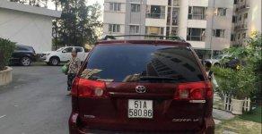 Cần bán Toyota Sienna đời 2006, màu đỏ, xe nhập chính chủ giá 550 triệu tại Tp.HCM