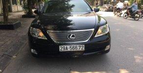 Bán Lexus LS 460L sản xuất năm 2008, màu đen, nhập khẩu giá 1 tỷ 90 tr tại Hà Nội