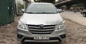 Bán ô tô Toyota Innova MT năm 2014, màu bạc giá 555 triệu tại Hà Nội