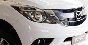 Bán Mazda BT 50 2018, màu trắng, nhập khẩu   giá 585 triệu tại Tp.HCM
