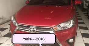 Cần bán Toyota Yaris sản xuất 2016 màu đỏ, nhập khẩu giá 600 triệu tại Hà Nội