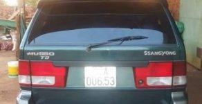 Bán xe Ssangyong Musso đời 2001, nhập khẩu   giá 130 triệu tại Gia Lai