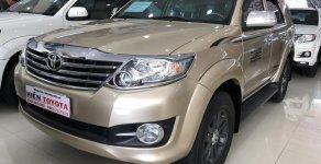 Cần bán xe Toyota Fortuner đời 2016, màu nâu vàng giá 880 triệu tại Tp.HCM