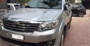 Cần bán lại xe Toyota Fortuner sản xuất 2013, màu bạc chính chủ giá 720 triệu tại Hà Nội