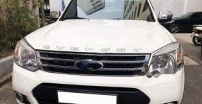 Bán xe Ford Everesrt sản xuất năm 2014, đi mới 57.000km số tự động, máy dầu, màu trắng/kem giá 680 triệu tại Tp.HCM
