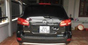 Bán ô tô Hyundai Santa Fe SLX sản xuất năm 2009, màu đen, xe nhập giá cạnh tranh giá 582 triệu tại Hà Nội