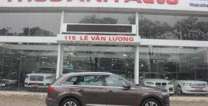 Bán Audi Q7 năm sản xuất 2016, màu nâu, nhập khẩu nguyên chiếc  giá 3 tỷ 280 tr tại Hà Nội