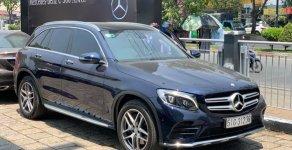 Bán xe Mercedes GLC300 xanh nội thất kem 2017 chính hãng. Trả trước 750 triệu nhận xe ngay giá 1 tỷ 950 tr tại Tp.HCM