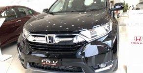 Bán xe Honda CR V sản xuất 2019, màu đen, nhập khẩu nguyên chiếc giá 1 tỷ 23 tr tại Tp.HCM